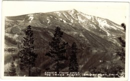 Real Photo - Lower Twin Lake, The Crag's Resort, Bridge Port, Calif 1941 - Altri