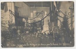 Lullin - Carte Photo - Inauguration Du Monument Aux Morts Pour La France - Les Discours N°8 - Sonstige Gemeinden