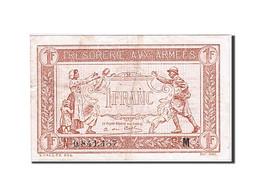 France, 1 Franc, 1917, KM:M2, 1917, TTB, Fayette:VF 3.13 - Treasury