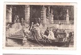 ARRIVO DEGLI INVITATI A VILLA CARLOTTA B. GIULIANO Per Roma 18- 9-1916 Very Fine Used - Como
