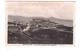BRACCIANO Panorama Generale Da Cotognola Per Roma 25- 6-1916 Very Fine Used - Italy