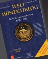 Battenberg Verlag: Welt-Münzkatalog A-Z Schön 2014 New 50€ Münzen 20/21.Jahrhundert Europa Amerika Afrika Asien Ozeanien - Tedesco