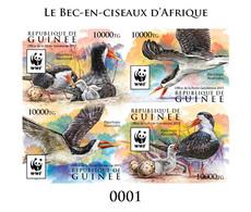 GUINEA 2015 - WWF  Rynchops Flavirostris, Collective Deluxe Sheet - W.W.F.