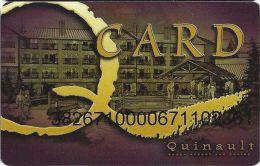 Quinault Beach Resort & Casino Ocean Shores WA Slot Card - Casino Cards