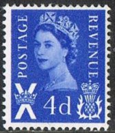 Scotland SG S2 1966 Definitive 4d Mounted Mint - Regional Issues