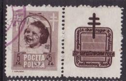 POLAND 1948 Anti-TB Fi 486 Pw6 Used - Used Stamps