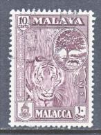 Malacca 61  (o)  FAUNA  TIGER - Malacca