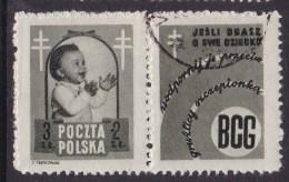POLAND 1948 Anti-TB Fi 485 Pw4 Used - Used Stamps
