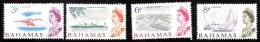 Bahamas Scott   208-11 Short Set Mint Hinged VF  CV $ 5.10 - Bahamas (...-1973)