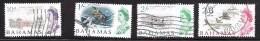 Bahamas Scott   212-15 Short Set Used VF  CV $ 3.85 - Bahamas (...-1973)