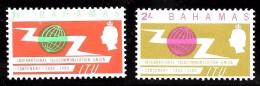 Bahamas Scott   219-20 ITU MNH  VF  CV $ 1.40 - Bahamas (...-1973)