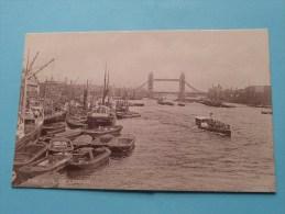 The POOL Of LONDON - Anno 19?? ( Zie Foto´s Voor Detail ) !