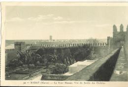 RABAT - La Tour Hassan - Vue Du Jardin Des Oudayas  (att A G Coupure) 166 - Morocco