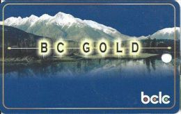 BCLC - BC Gold Card Used In Canadian Casinos  (Blank) - Casino Cards