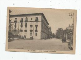 Cp , 58 , NEVERS , Hôtel De France Et Rue De Paris , Voyagée 1945 - Nevers