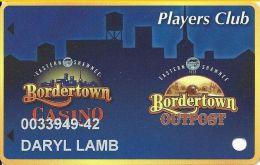 Bordertown Casino Wyandotte, OK Slot Card - Casino Cards