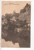 """LUXEMBOURG . LES ROCHERS DU """" BOCK """" ET L'ÉGLISE St. MICHEL - Réf. N°12879 - - Luxembourg - Ville"""