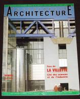 Architecture Spécial Paris La Villette Belle Revue Grand Format De 1987 Nombreuses Photos - 130 Pages - Ile-de-France