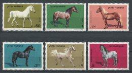 ROUMANIE 1984 N° 3528/3533 ** Neufs = MNH  Superbes Cote 6,50 € Races Pur-sang Lippizzan Faune Chevaux Horses Anima - Neufs
