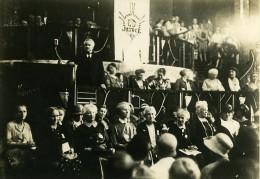 Allemagne Berlin Congres International Des Femmes Carl Severing Ancienne Photo 1930 - Famous People
