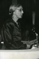 France Paris Dolores Ibárruri La Pasionaria Congres International Des Femmes Ancienne Photo 1945 - Célébrités