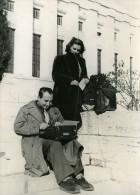 Suisse Journaliste Grec Henri Polydefkis Citoyen Du Monde Ancienne Photo 1948 - Famous People