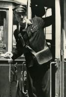 Autriche Traversee De La Manche Edi Bernat Conducteur De Tramway Ancienne Photo 1950 - Photographs