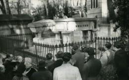 France Pere Lachaise Commemoration De La Mort De Moliere Ancienne Photo 1960 - Photographs