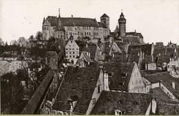 Allemagne Nuremberg Panorama Die Burg Ancienne Photo Cabinet Rommler & Jonas 1890 - Old (before 1900)