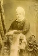 Royaume Uni Londres Portrait Femme Ancienne Photo Cabinet Negretti & Zambra 1880 - Photographs