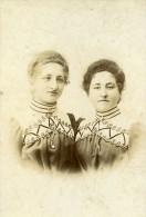 France Niort Portrait Enfants Famille Deguin Ancienne Photo Cabinet Richard 1910