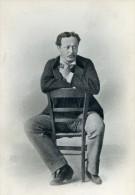 France Homme Fumant La Pipe Portrait Ancienne Photo 1900 - Anonymous Persons