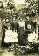 France Niort Portrait Famille Hennequin Deguin Ancienne Photo Cabinet 1910