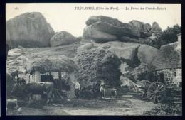 Cpa Du 22  Tregastel La Ferme Des Grands Rochers  NOV15 19 - Trégastel