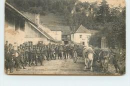 60em Régiment D'infanterie, Souvenir De Manoeuvres 1913 (carte Vendue En L'état) - Manoeuvres