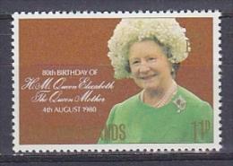 Falkland Islands 1980 80th Birthday Queen Mother 1v ** Mnh (FI1006DB) - Falklandeilanden