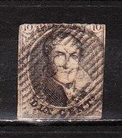 6  Médaillon Non Dentelé - Oblit. D58 WATERLOO - LOOK - X011!!!! - 1851-1857 Medallions (6/8)