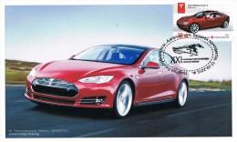 Kyrgisien 17.10.2015  Maximumkarte - Tesla S - - Persönlichkeiten