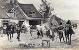 NAPOLEON : En Route, Contre Temps. Peinture De Louis Gardette Pour Le Salon De 1905 - Histoire