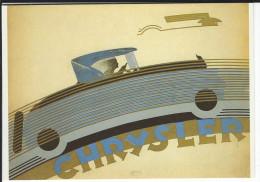 CHRYSLER , La Chrysler Six Modèle 80. 1926- Amorimage Pour Humour à La Carte PU 369 - Publicité