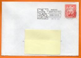 MONTE CARLO   PAROISSE SAINT MARTIN      13 / 5 /1986 Lettre Entière   N° T 178 - Lettres & Documents