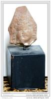 Tête Romano-égyptienne En Terre-cuite - Archéologie