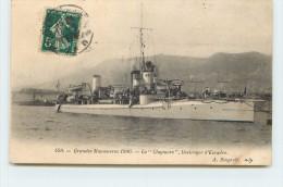 """GRANDES MANOEUVRES 1906 - La """"Claymore"""" Destroyer D'escadre. - Guerre"""