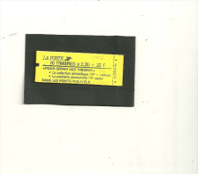 CARNET LIBERTE DE GANDON YT 2376C6 DATE 26/8/89 PRESSE 6 - Usage Courant