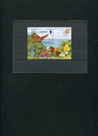 GUERNSEY 1997 BLOCK With BUTTERFLY.WWF Related.MNH. - W.W.F.