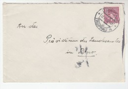 1937 Opava CZECHOSLOVAKIA  1k Stamps COVER - Covers & Documents