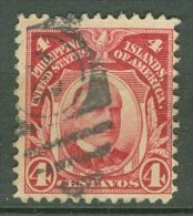 USA - POSSESSIONS - PHILIPPINES 1917-25: Sc 290, O - FREE SHIPPING ABOVE 10 EURO - Filipinas
