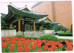O684 Seoul - Hotel Shilla - Yeong Bin Gwan - Nice Stamps Timbres Francobolli / Viaggiata 1989 - Corea Del Sud