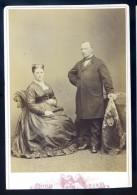 Photo Albuminée Originale 1870 - Couple Photographe Italien Fratelli Roma   M1 - Photographs