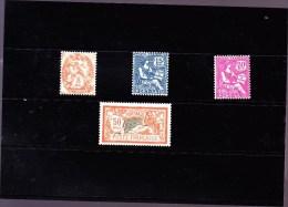 PORT-SAID : Y&T : 80* à 83* - Port-Saïd (1899-1931)